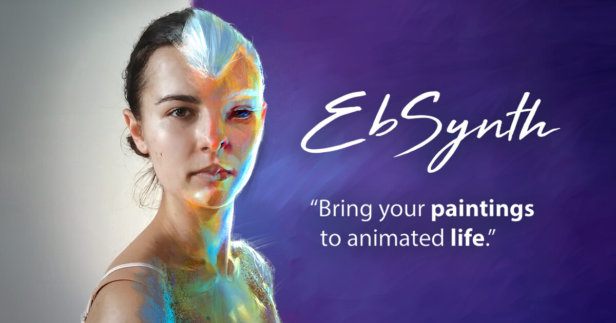EbSynth - Transform Video by Painting Over a Single Frame